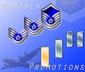 "The names of 302nd Airlift Wing, Air Force Reservists who were promoted in February and March can now be seen on the website's promotions page. Click on the ""promotions page"" related link to see which Air Force Reserve members have earned an additional stripe."