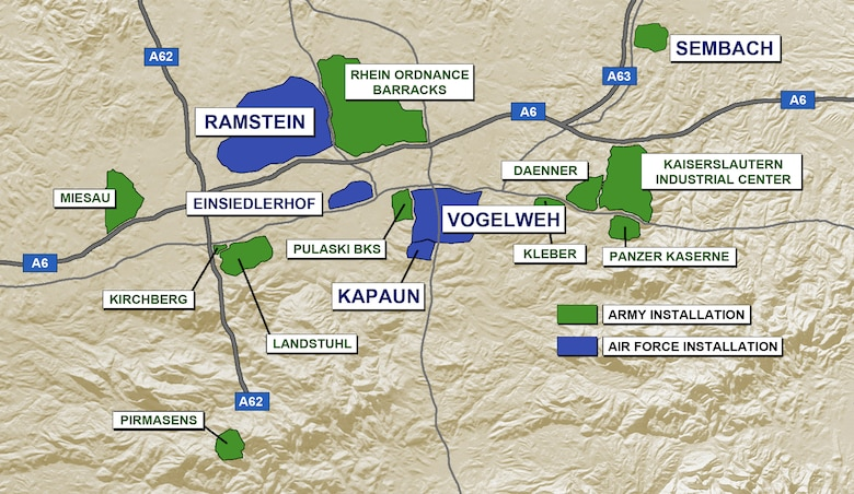 Map Of Germany Ramstein.What Is The Kmc Ramstein Air Base Display