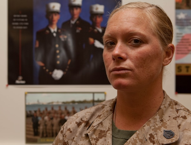 SSgt. Jamie J. Rae, U.S. Marine Corps Forces, Pacific's financial management resource analyst, is an example of what a Marine should be, according to numerous Marines she works with. Rae has earned many meritorious promotions and was one of the first female Marine Corps Martial Arts Program instructor trainers.