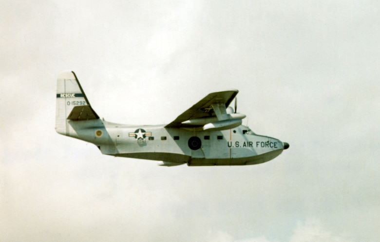 Grumman HU-16B Albatross patrolling along the coast of South Vietnam in 1966. (U.S. Air Force photo)