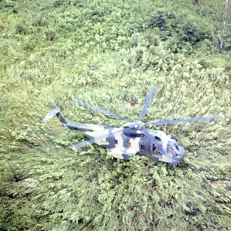 CH-3E Jolly Green Giant in Southeast Asia. (U.S. Air Force photo)