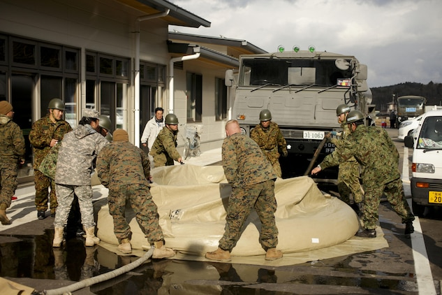 Nice Marines From Task Force Fuji And Marine Wing Support Squadron 171, Combat  Logistics Regiment 35