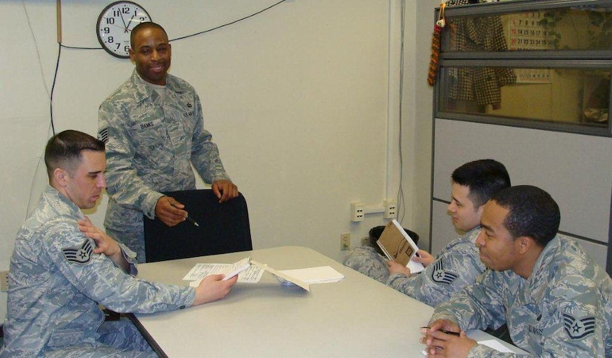 Tech. Sgt. Toriano Banks, 51st Comptroller Squadron