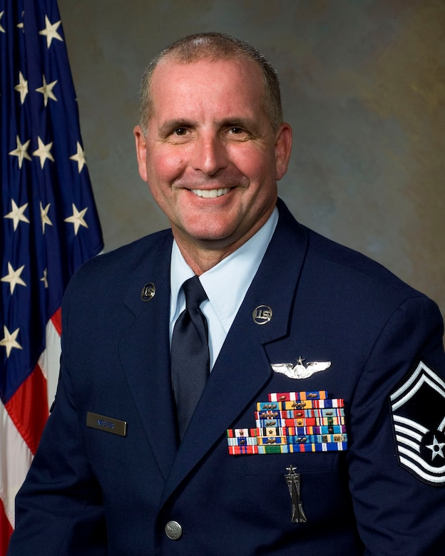 Senior Master Sgt Ron Nester 146th Airlift Wing, 2010 Outstanding Senior NCO of the Year.