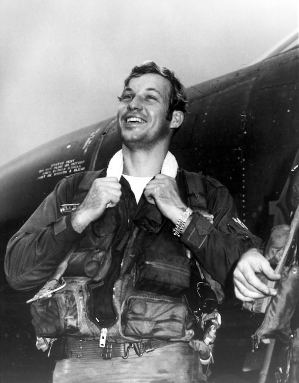 "Capt. Richard ""Steve"" Ritchie, 555th Tactical Fighter Squadron, scored five MiG-21 victories between May and August 1972, including one double-victory mission. He was the USAF's only pilot ace of the Southeast Asia War. (U.S. Air Force photo)"