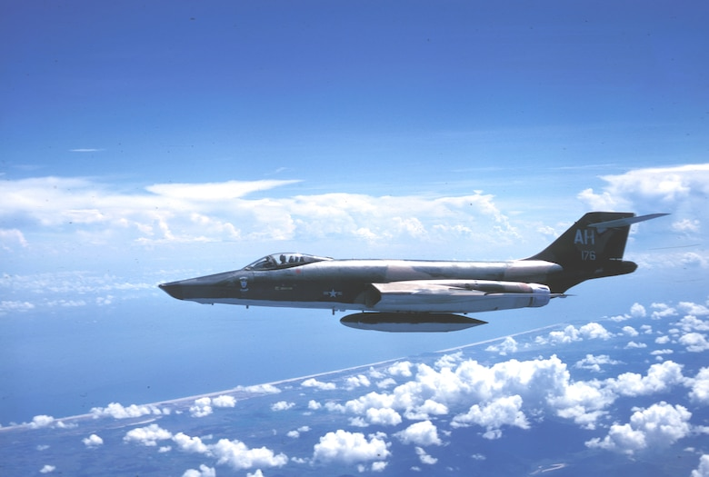 RF-101 reconnaissance aircraft provided key intelligence about the Ho Chi Minh Trail. (U.S. Air Force photo).