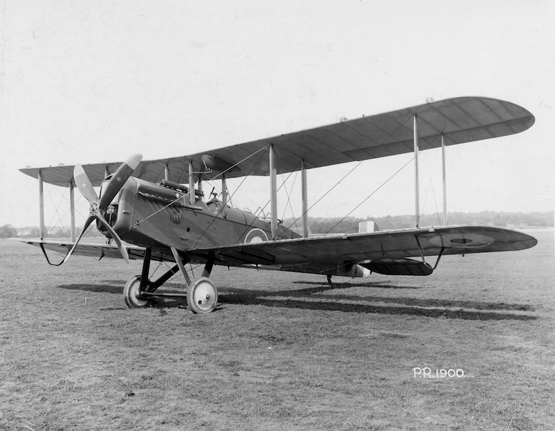 The first DH-4 flew in France on May 17, 1918, and by the Armistice, 3,431 had been delivered, of which 1,213 had been received in Europe. (U.S. Air Force photo)