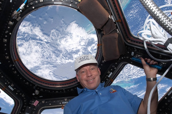 Retired Col. Steve Lindsey's space flight in February, aboard the final mission of the space shuttle Discovery, (STS-133) marked his fifth mission into space – his third as commander -- and it all started because of an educational opportunity he earned through AFIT. (Courtesy photo)