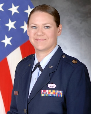 Maj. Wendy Enderle, 8th Aircraft Maintenance Squadron operations officer