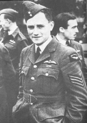 ROYAL AIR FORCE FELTWELL, England -- Photo of Sgt. James A. Ward, the first New Zealander awarded the Victoria Cross; the British equivalent of the Medal of Honor. Sergeant Ward was stationed at RAF Feltwell with the Royal New Zealand Air Force No. 75 Squadron during World War II. He was awarded the medal for his heroic actions on July 7, 1941, when his Wellington bomber caught fire from an enemy attack. (Courtesy photo)