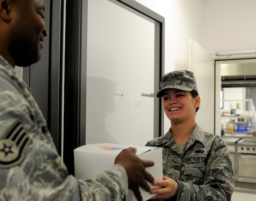 SPANGDAHLEM AIR BASE, Germany – Senior Airman Kimberly Lilly, 52nd Force Support Squadron assistant NCO in charge of the Flight Kitchen, is the Super Saber Performer for the week of May. 20-26. (U.S. Air Force photo/Airman 1st Class Brittney Frees)
