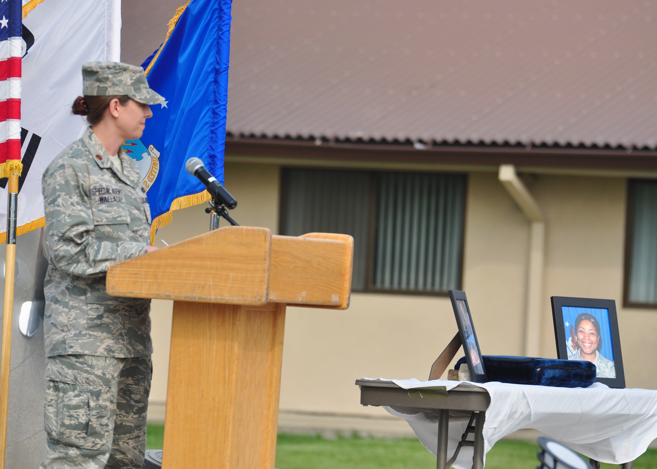 Osan air base honors fallen afosi and security forces - Air force office of special investigation ...