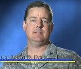 Col. Evans briefs a summer safety message