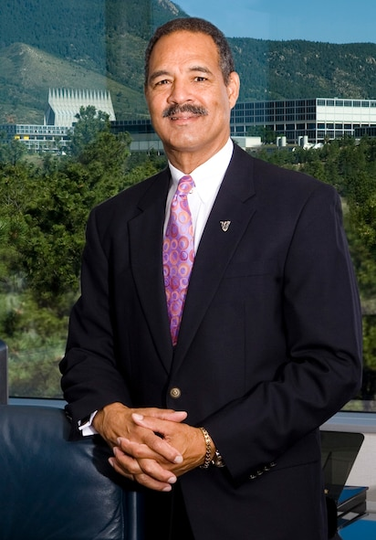 "William ""T."" Thompson is the president and CEO of the Association of Graduates; a non-profit organization that supports the Air Force Academy and its alumni. (U.S. Air Force photo)"