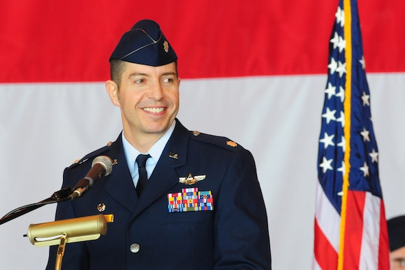 Lieutenant Col. Daniel E. Brant accepted command of the 966th Airborne Air Control Squadron from Lieutenant Col. Greg A. Kent in an official ceremony May 12.