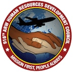 916th Air Refueling Wing Human Resource Development Council Patch