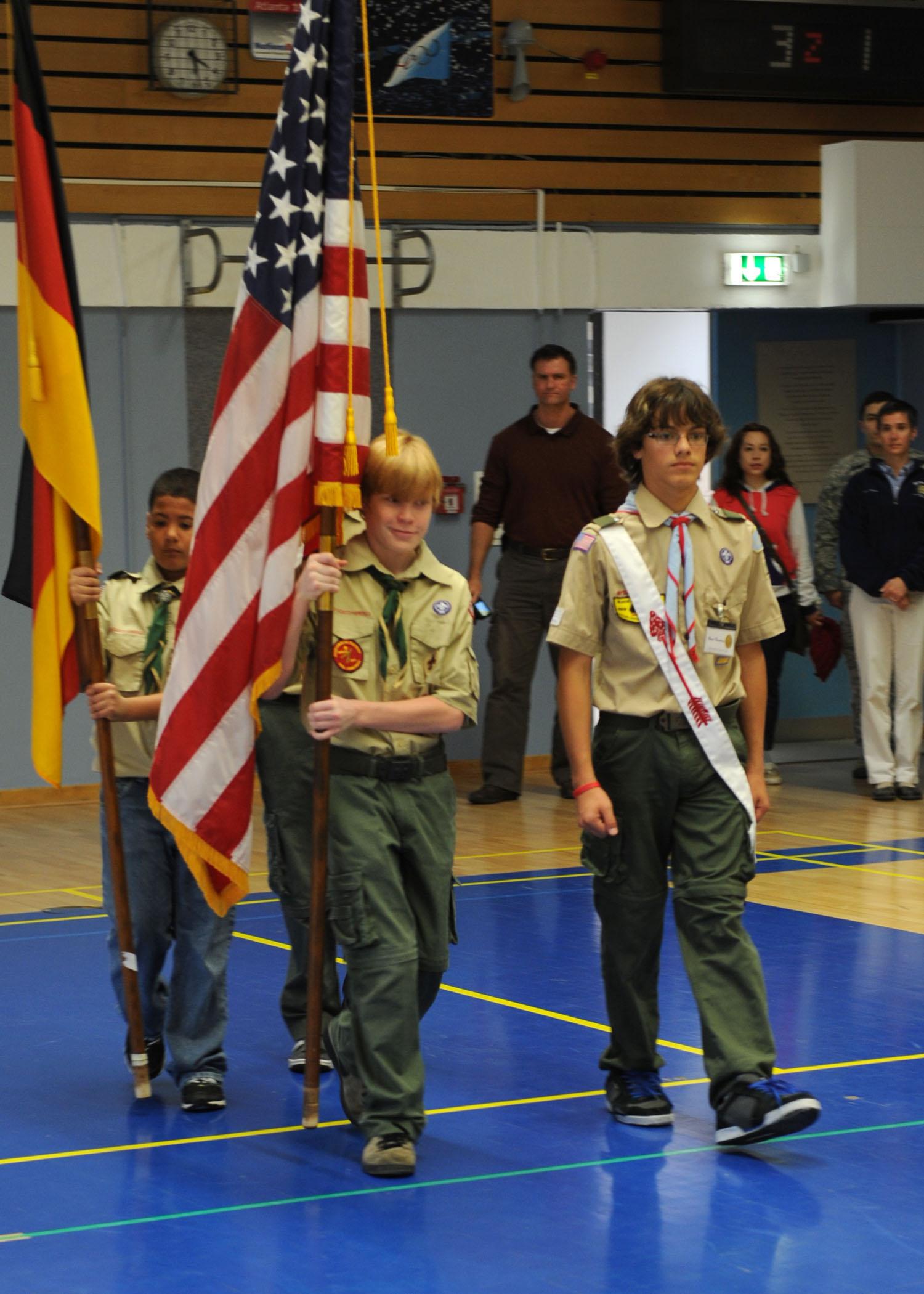 Bitburg School honors Veterans Day with ceremony