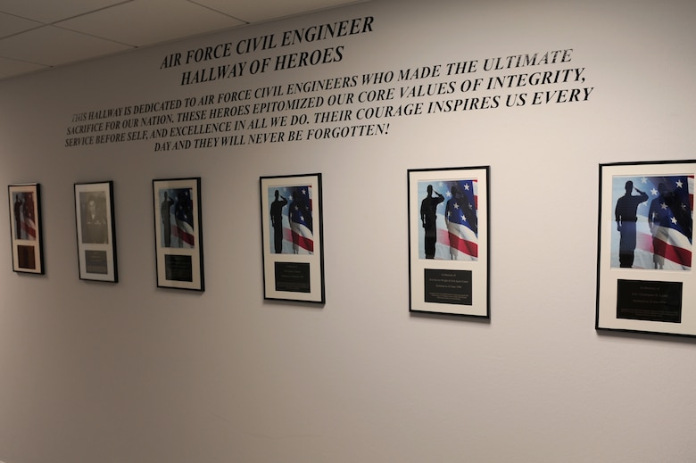 Engineers immortalize fallen brethren spangdahlem air for Air force decoration examples