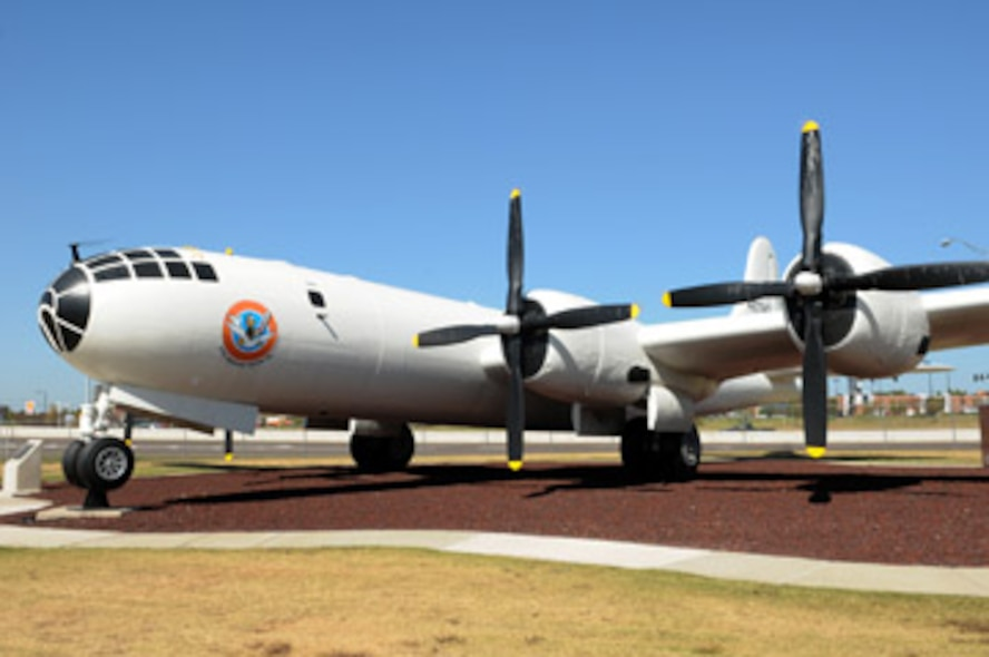 The Boeing B-29 Superfortress was one of the biggest aircraft of its day and remained one of the most effective for 20 years. The B-29 had many incarnations, but Tinker's static display, tail number 44-27343, never dropped a bomb or fired a shot on a hostile target. Tail number 44-27343 was delivered in April 1945 to Gulfport, Miss., too late for World War II, but not for contributing to the Air Force mission.
