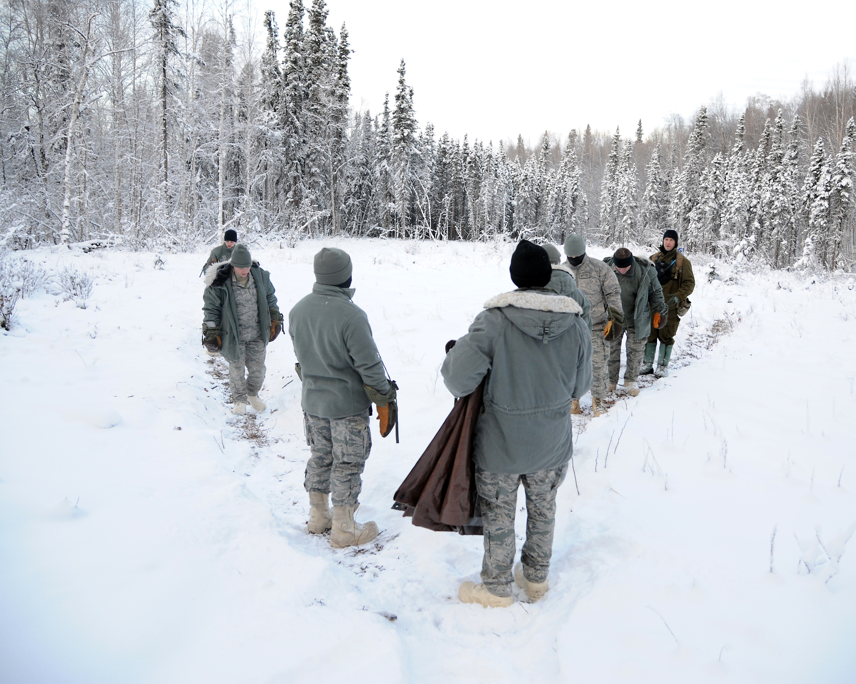 arctic survival Could you hack it see what it takes to make it through the air force arctic survival school at eielson air force base, alaska.