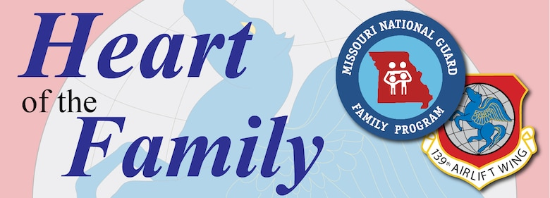 Heart of the Family. Family Readiness logo.
