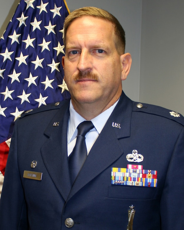 WRIGHT-PATTERSON AIR FORCE BASE, Ohio - Lt. Col. Kenneth Herstine is the 445th Force Support Squadron commander.