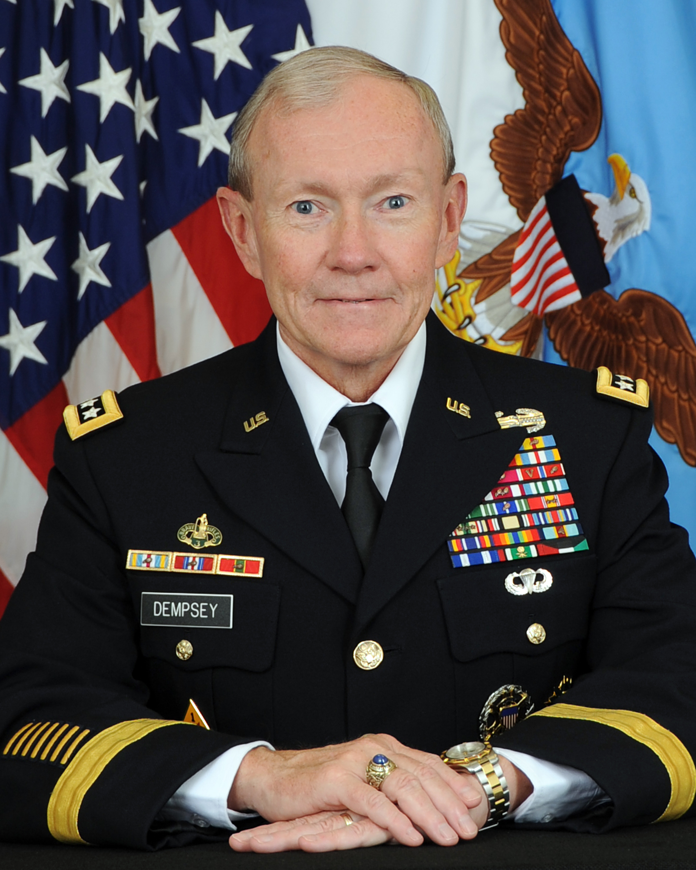 Biographies: General Martin E. Dempsey > U.S. DEPARTMENT OF DEFENSE