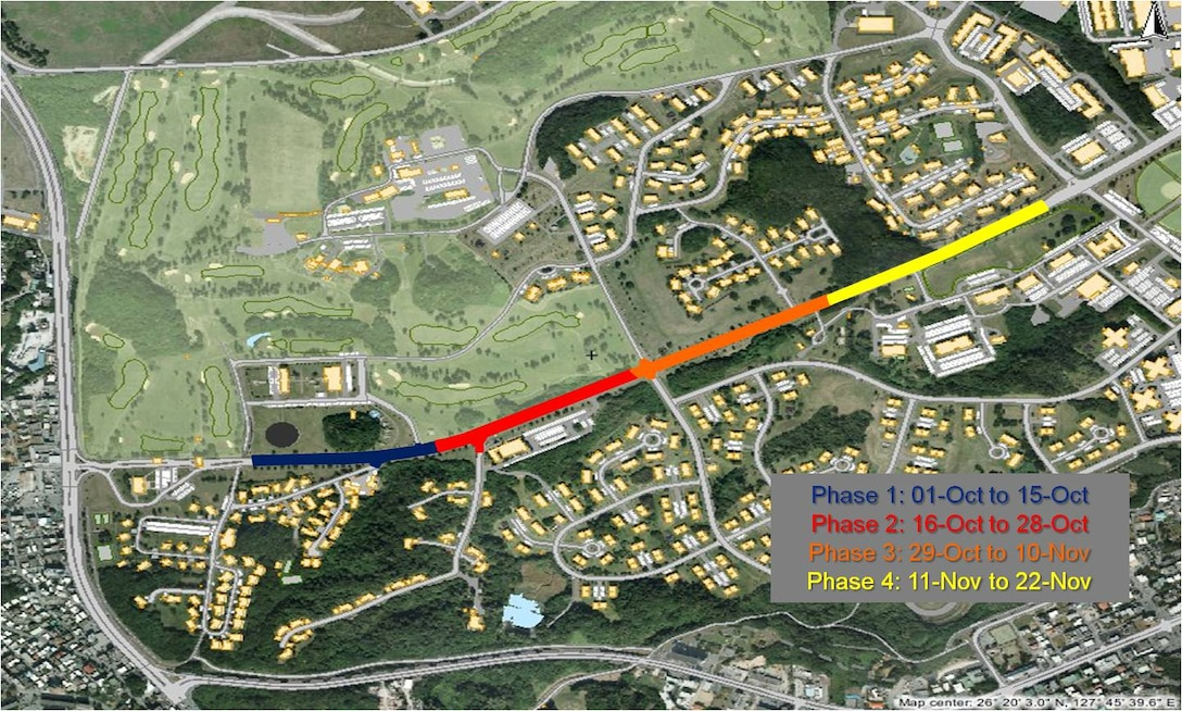 Douglas Avenue construction is scheduled to complete in late November.