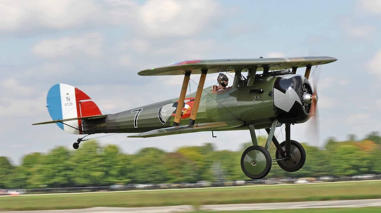 DAYTON, Ohio -- World War I aircraft took to the skies during the World War I Dawn Patrol Rendezvous from Sept. 23-25, 2011, at the National Museum of the U.S. Air Force. (Photo courtesy of Bob Punch)