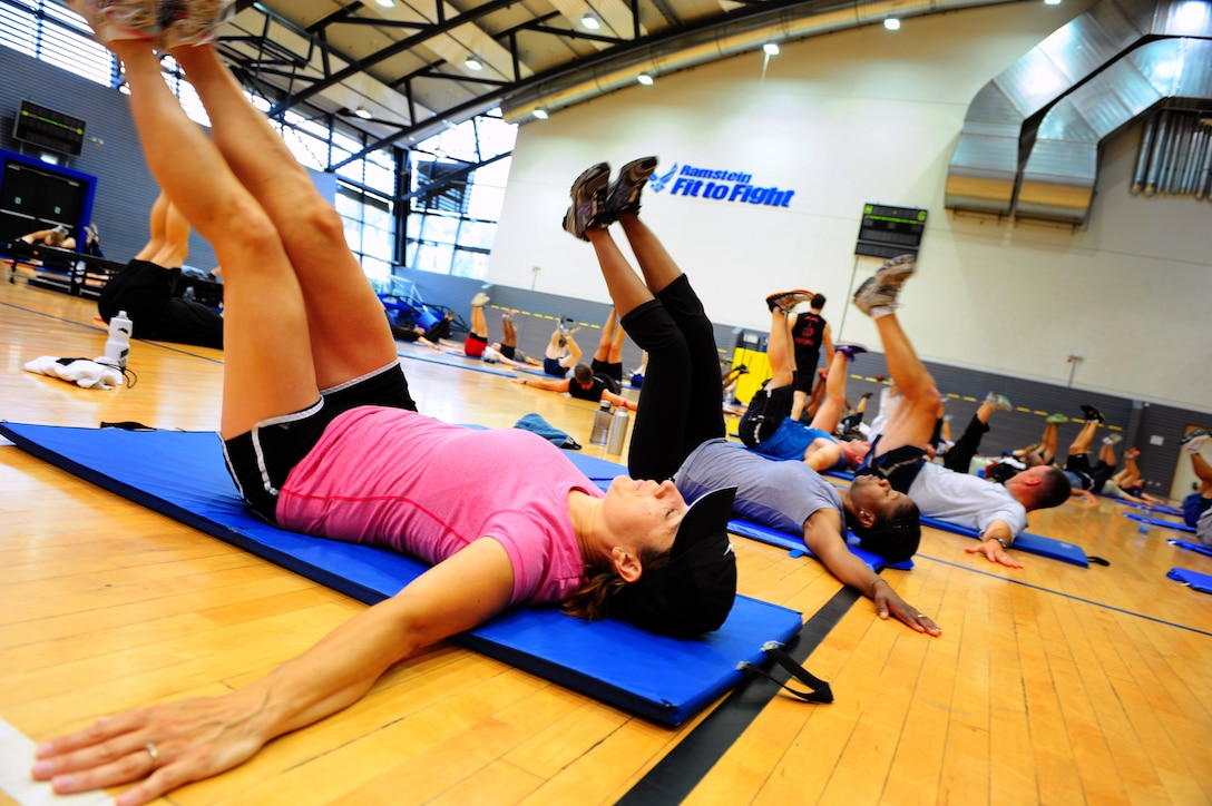 P90X keeps Ramstein fit to fight