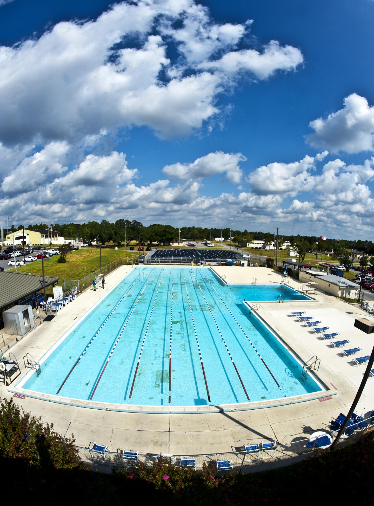 Eglin Pool Stays Warm Through Solar Technology Gt Eglin Air