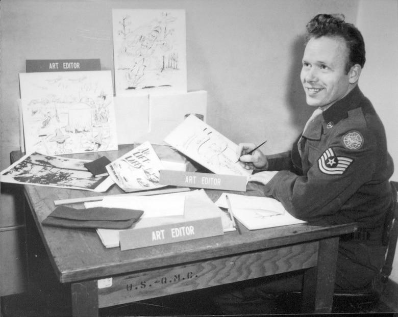 """Tech. Sgt. John H. """"Jake"""" Schuffert. (U.S. Air Force photo)"""
