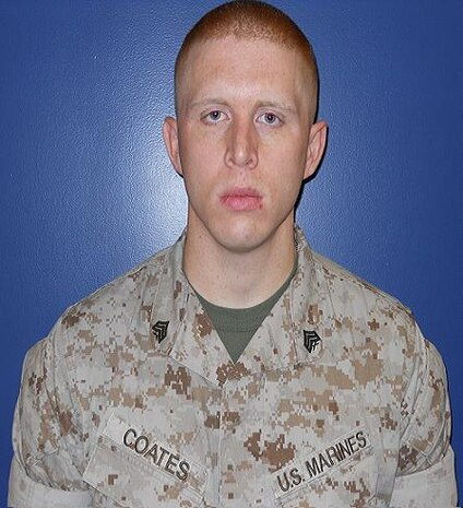 Sgt Coates - Co D - USMC Linguist of the Year