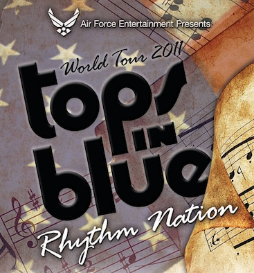 Tops in Blue, the premier entertainment showcase of the U.S. Air Force, is scheduled to perform for servicemembers and civilians alike at the University of Guam field house in Mangilao Nov. 29 at 6:30 p.m.
