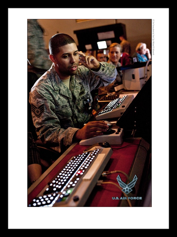 Air Traffic Control Airmen 18x24 inches @ 300 PPI (U.S. Air Force photo/layout by Tech. Sgt. Michael R. Holzworth/Released)
