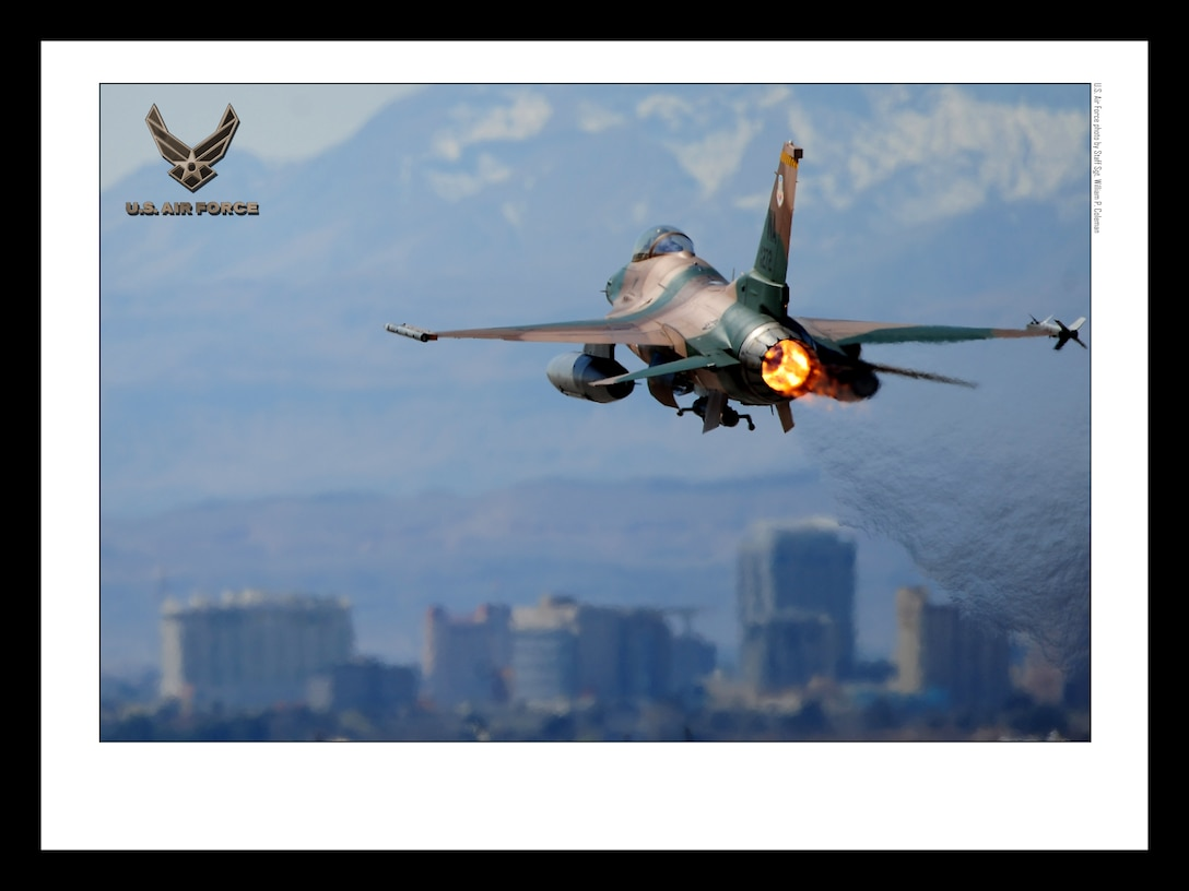 F-16 Fighting Falcon18x24 inches @ 300 PPI (U.S. Air Force photo/layout by Staff Sgt. William P. Coleman/Released)