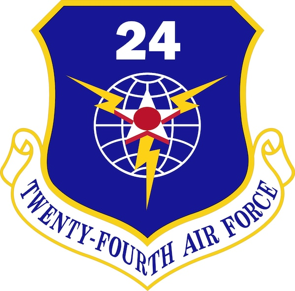 24th Air Force Shield (Color)