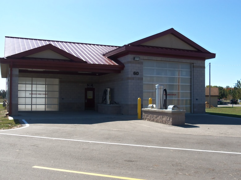 The Alpena CRTC Vehicle Wash Facility offers two wash bays for both general purpose and special purpose vehicles.