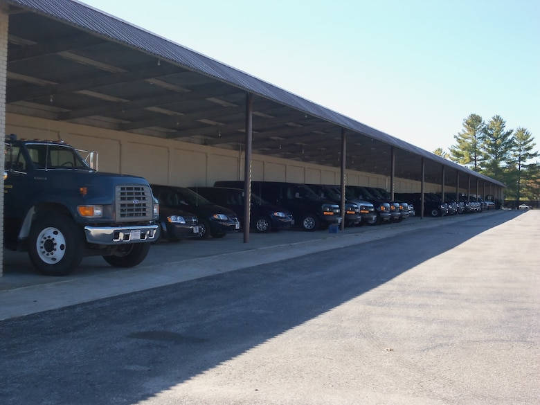 The Alpena CRTC Vehicle Maintenance section has a large package of vehicles available for unit use.