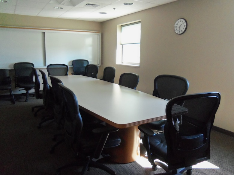 The Alpena CRTC Vehicle Maintenance facility offers a conference room with a laptop capable monitor.