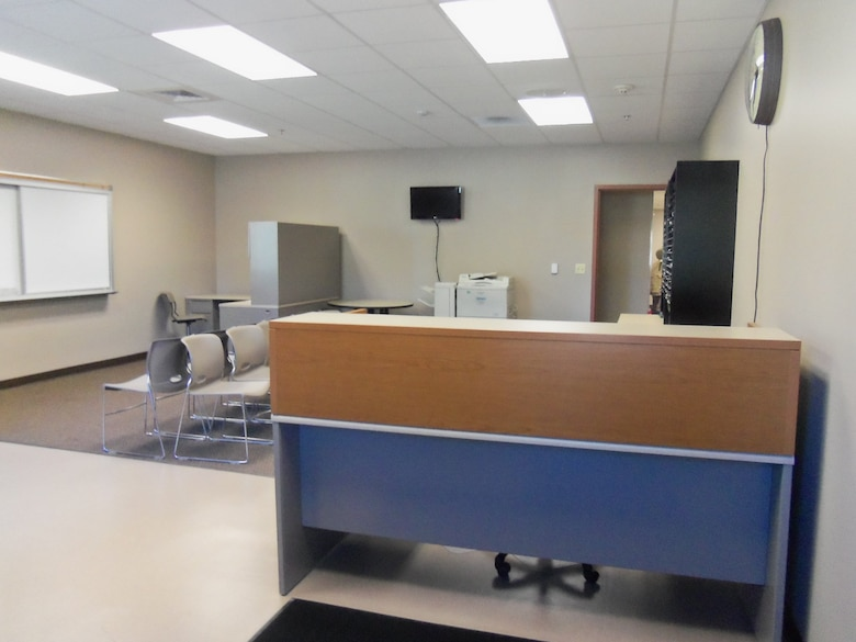 The Alpena CRTC Vehicle Maintenance facility offers a transient / visiting unit office space with 567 square feet.