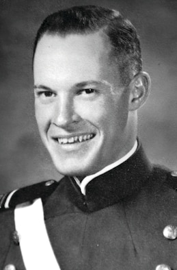 Capt. Thomas Clark, pictured here as an Air Force Academy cadet, was declared missing in action after his F-100D Super Sabre was shot down over the Savannakhet Province of Laos Feb. 8, 1969. His remains were returned to his family in Emporium, Pa., and he was buried with military honors Oct. 22, 2011. (U.S. Air Force photo)