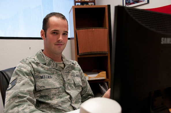 Staff Sgt. Stephen Myers, 162nd Fighter Wing, Tucson, Ariz. (U.S Air Force photo/Master Sgt. David Neve)