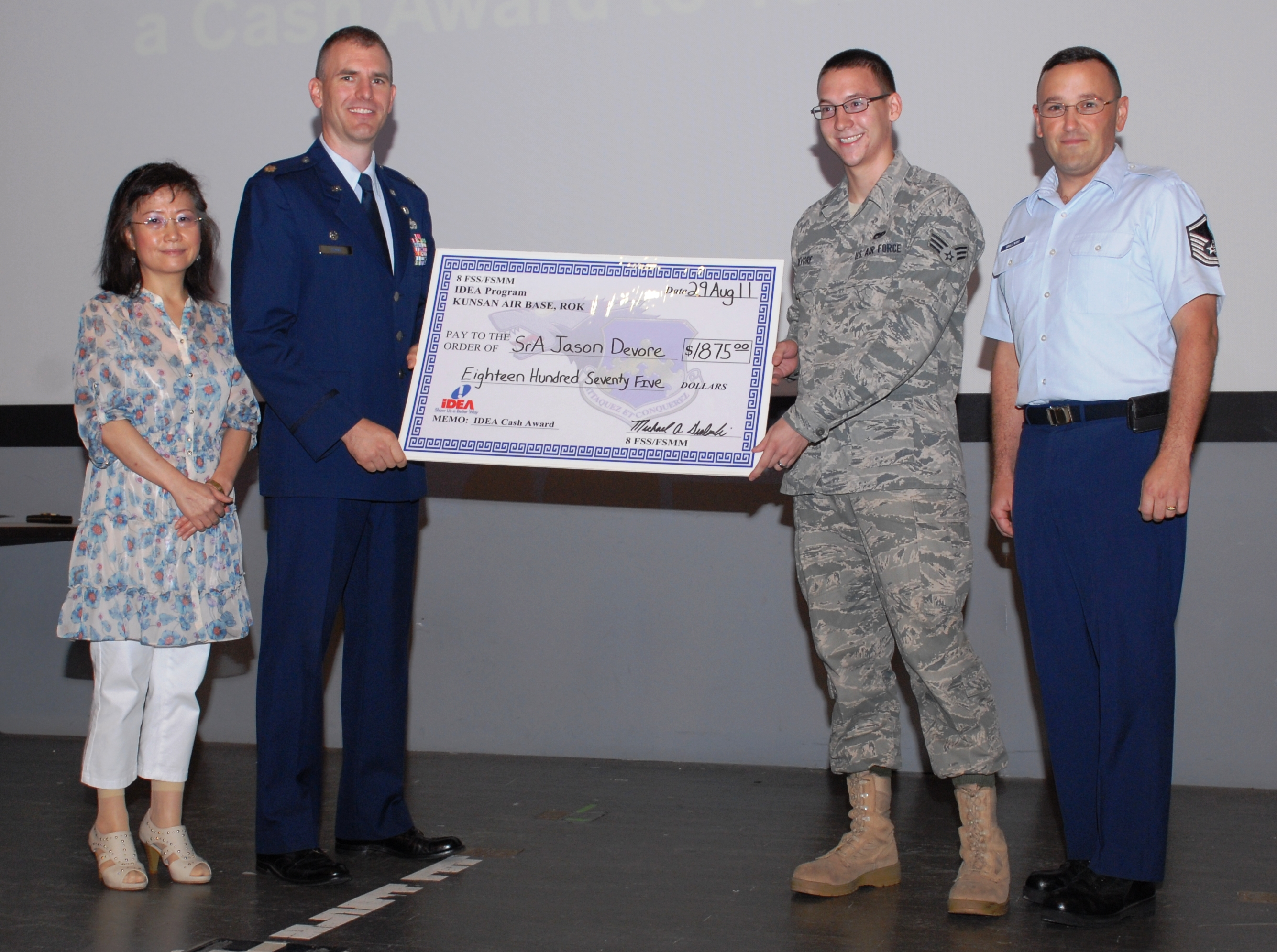 what is the air force idea program