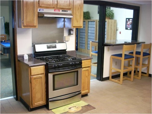 Each dormitory has one central, updated and fully furnished kitchen, laundry room and dayroom.