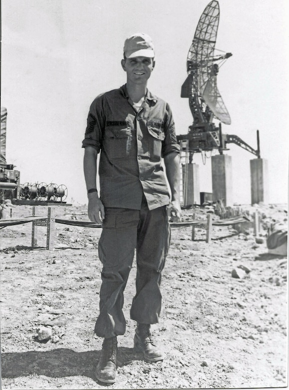 CMSgt Richard Etchberger in 1968 -- photo not taken at LS 85. (U.S. Air Force photo).