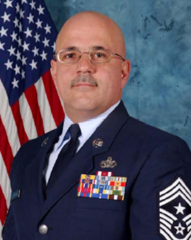 Command Chief Master Sgt Wayne Raymondo