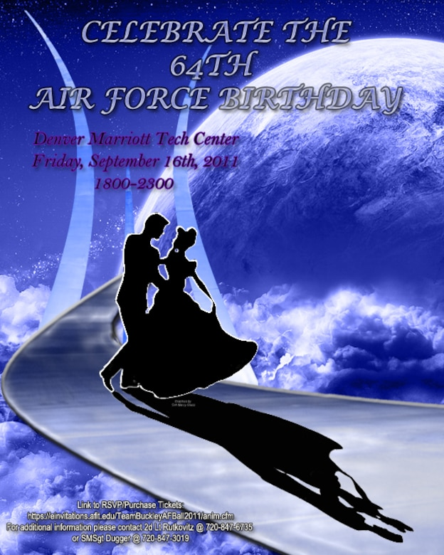 Come celebrate the 64th Air Force Birthday.