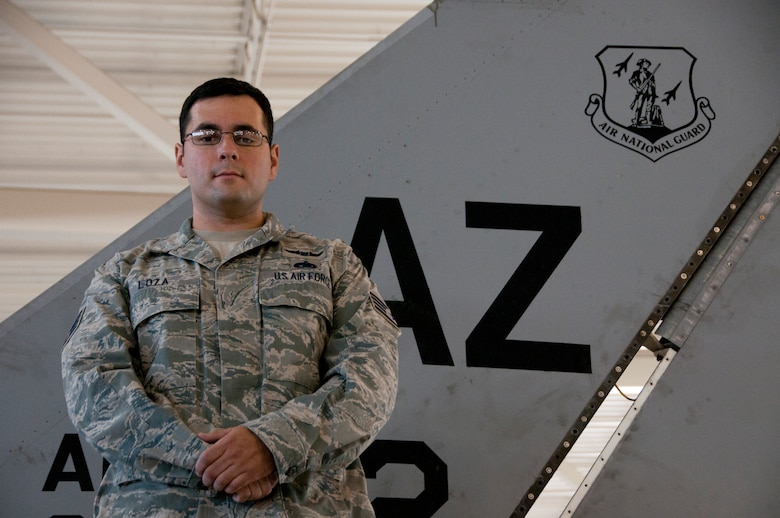 Staff Sgt. Julian S. Loza, 162nd Fighter Wing, Tucson, Ariz. (U.S. Air Force photo/Master Sgt. Dave Neve)