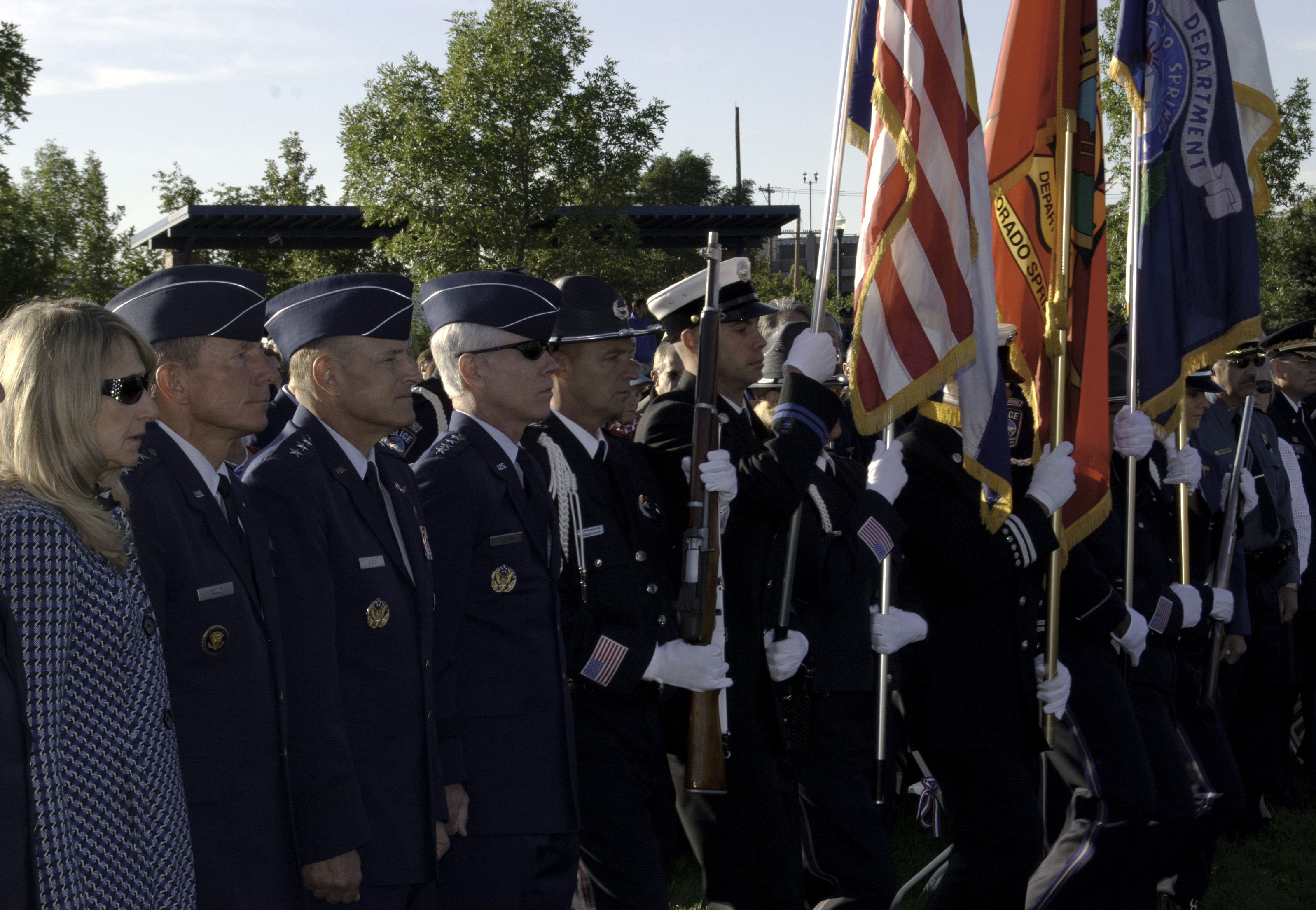 cad8cddc Colorado Springs, local military bases honor memory of 9/11 > United ...